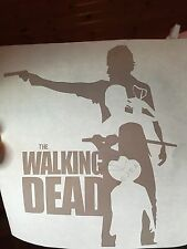 The Walking Dead daryl rick carl michonne decal sticker zombie zombies fear saul