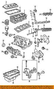 GM OEM-Engine Crankshaft Crank Main Bearing 89017808