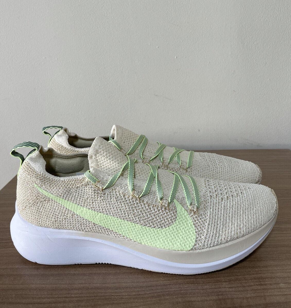 Nike Zoom Fly Flyknit Taille UK7, EUR41, AR4562 200 Lampes Crème/à peine Volt Nouveau