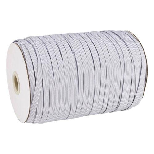 10mtr elastastisches cinta elástica 7mm blanco DIY mundbedeckung coser 0,399 €//MTR.