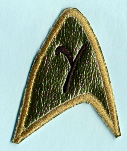 """Classic TOS Star Trek /""""The Cage/"""" style Academy Services Patch"""