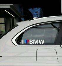 I LOVE M BMW PERFORMANCE POWER   Aufkleber ¦ Sticker *NEU