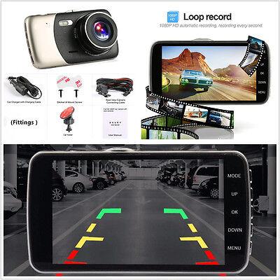 Universal HD 1080P Dual Lens Car DVR Video Rearview Camera Night Vision G-Sensor