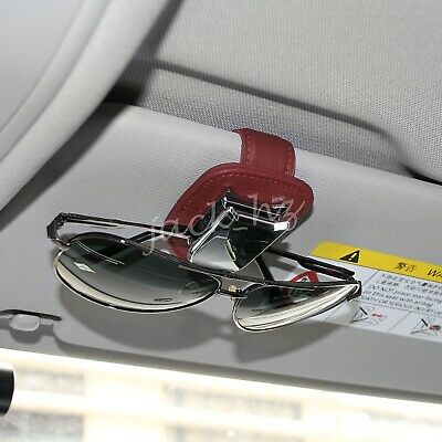 Universal 360° Car Auto Sun Visor Glasses Sunglasses Card Ticket Holder Clip New