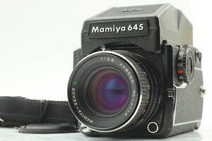 Quasi-Nuovo-Mamiya-M645-1000s-fotocamera-80mm-f-2-8-AE-Prism-Finder-Japan-813J