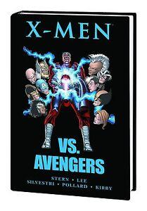 X-MEN-VS-AVENGERS-HARDCOVER-Marvel-Comics-1987-Mini-Series-1-4-HC-NEW