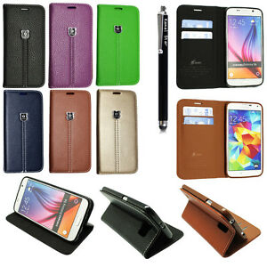Luxury-Magnetic-Flip-Cover-Stand-Wallet-Leather-Case-For-Various-Models-Stylus
