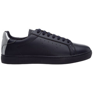 Emporio Armani sneakers men X4X316XM500N026 leather logo detail shoes trainers