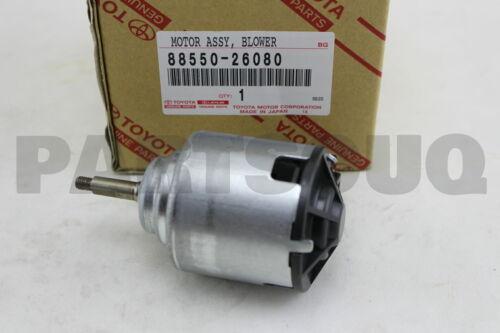 BLOWER 88550-26080 8855026080 Genuine Toyota MOTOR ASSY