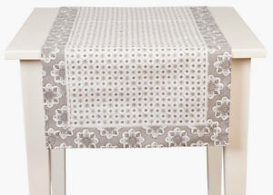 """Clayre & FED, Table Coureur """"Mixed Patterns"""", 50 x 140 cm  </span>"""