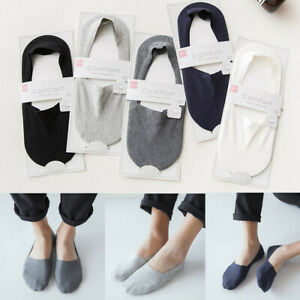 Breathable-Ultra-thin-Invisible-Ankle-socks-Silicone-Non-slip-Cotton-Boat-Socks