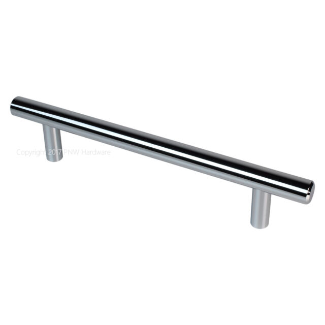 "5-Pack 7/"" Top Knobs M1848 Polished Chrome Bar Pull Cabinet Drawer Handle 5/""cc"
