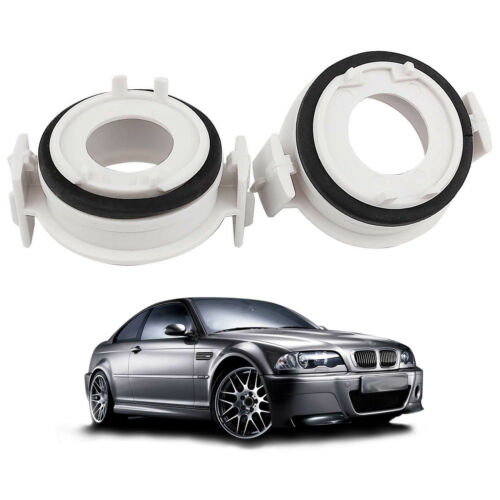 H7 LED Headlight Adapter Holder Retainer For BMW E46 3 Series High Efficiency