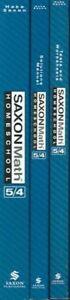 Math-54-Homeschool-Kit-Paperback-by-Hake-Stephen-Brand-New-Free-shippin
