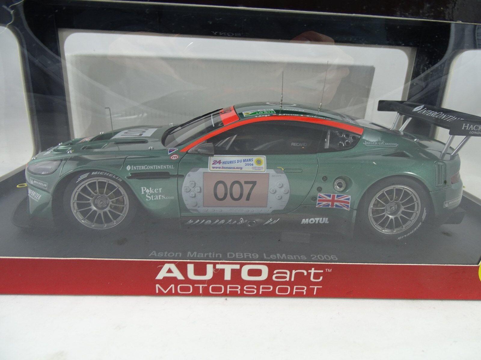 1 18 Autoart Aston Martin Dbr9 2006 Rarity §