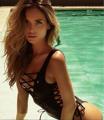 Sexy Women Backless One-Piece Push Up Bikini Swimwear Bandage Monokini Swimsuit