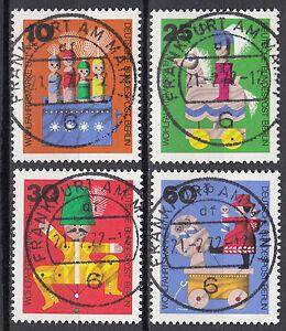 Berlin-1971-Mi-Nr-412-415-TOP-Vollstempel-Gestempelt-LUXUS-13032