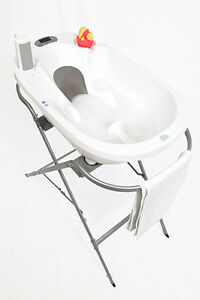 Baby Bath Tub With Stand.Details About Baby Patent Aqua Scale Bath Stand Bath Tub Not Included Portable Stand To Go