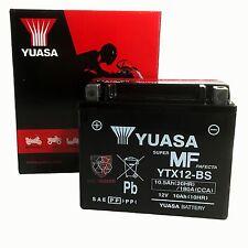 MOTO YUASA-BATTERIA ytx12-bs YTX 12-bs NUOVO!!!