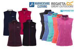 Regatta-Womens-Ladies-Sweetness-Lightweight-Fleece-Bodywarmer-Gilet