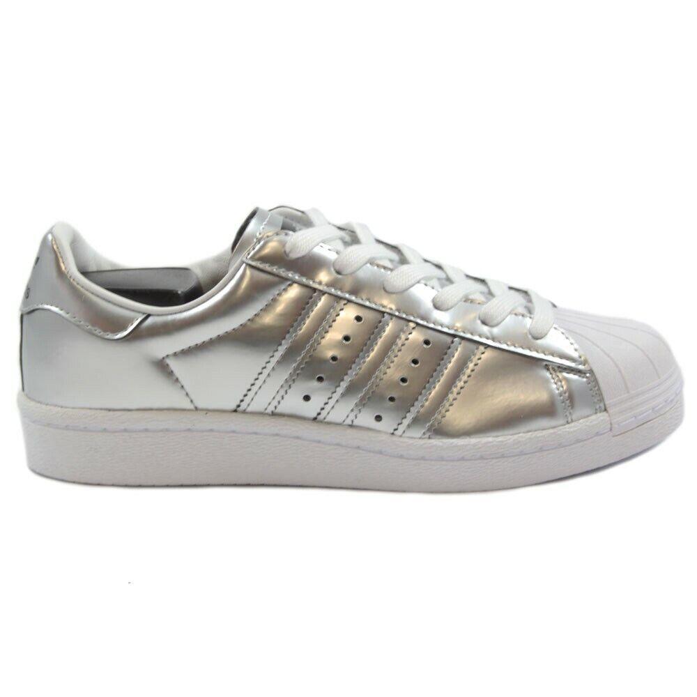 Adidas Damen Turnschuhe Superstar Boost SilvMt SilvMt FtwWht BB2271