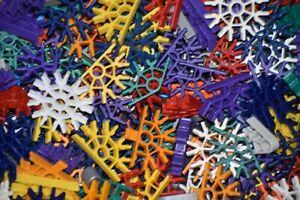 300 KNEX CONNECTORS Random Mixed Bulk Lot Standard Replacement Parts K'NEX