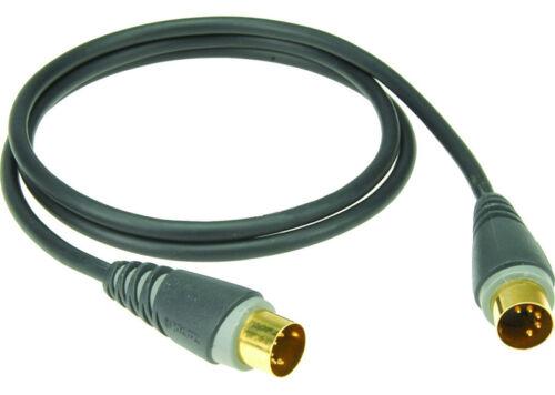 KLOTZ MID-030 MIDI-Kabel DIN 5-polig 3m