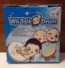 Drum & Drum Sticks Nintendo Wii Controller for Taiko No Tatsujin Video Game