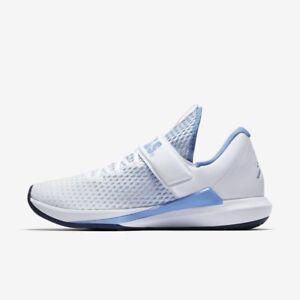 b92f239d932 Men's Air Jordan Trainer 3 UNC North Carolina Tar heels Shoes ...