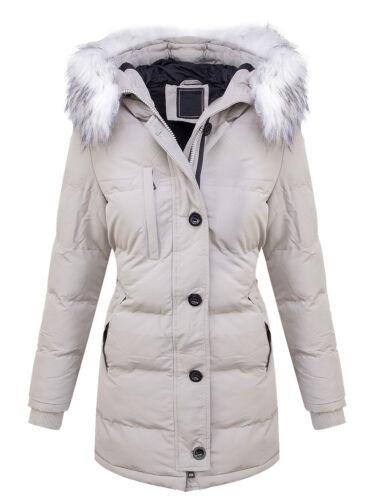 arrêtés Women Vestes Winter Warm D Parka Jacket Vestes feutrée d'hiver 407 AYxCcdIcqw