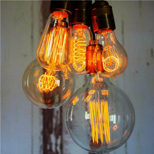 1//4//6xE27 B22 40//60W Edison Bulb Antique Vintage Style Decor Light Dimmable Lamp