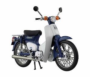 Motorcycle-Honda-Super-Cub-50-Blue-1-12-Bike-Motorbike-Skynet-Japan-New