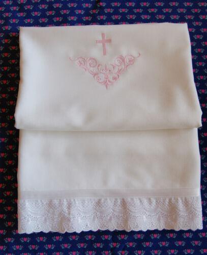 Handtuch Taufe Tauftuch orthodoxe Taufe Taufhandtuch weiss BAUMWOLLE
