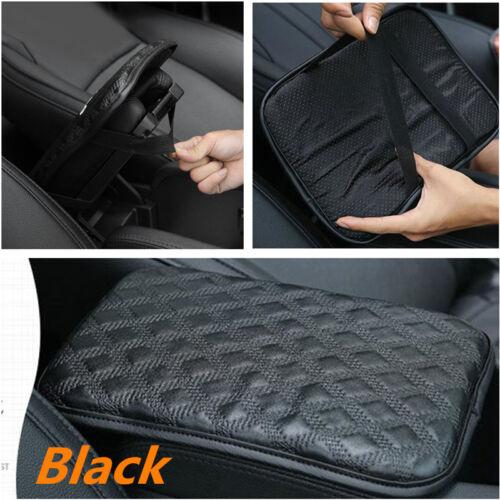 Leather Car Center Armrest Console Box Soft Pad Cover Cushion Durable Wear Mat