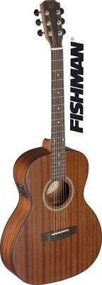 Hafengitarre DEV-PFI Elektroakustische Folk Parlor Gitarre