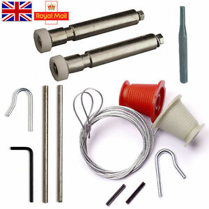 NEW-HENDERSON-FULL-REPAIR-KIT-Cables-amp-Rollers-Nuts-garage-door-spares-parts