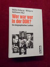 Buch, Wer war wer in der DDR ?, Ein biographisches Lexikon, Ch.Links 2000