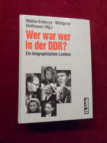 1 von 1 - Buch, Wer war wer in der DDR ?, Ein biographisches Lexikon, Ch.Links 2000