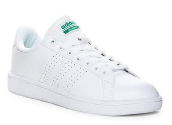 47c3e1b00 Adidas Cloudfoam CleanCourt Men's Sneakers White Athletic Skate Shoes AW3914
