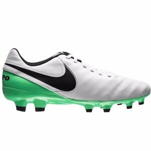 bb3e219100565 Details about NIKE Tiempo Genio Leather II Men's Soccer Cleats Style  819213-103 NWB