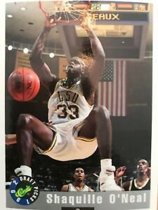 100 Cards Shaquille Oneal #1 Card 1992 Classic Draft Picks Set