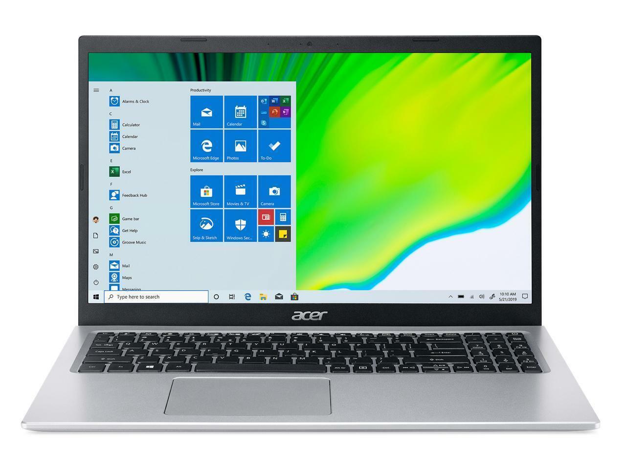 "Image 2 - Acer A515-56-56DJ 15.6"" Laptop Intel Core i5 11th Gen 1135G7 (2.40 GHz) 8 GB Mem"