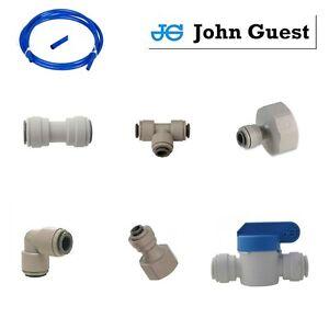 Genuine-John-Guest-JG-Water-Filter-Push-Fit-Tap-Connectors-Filter-Tubing-BLUE