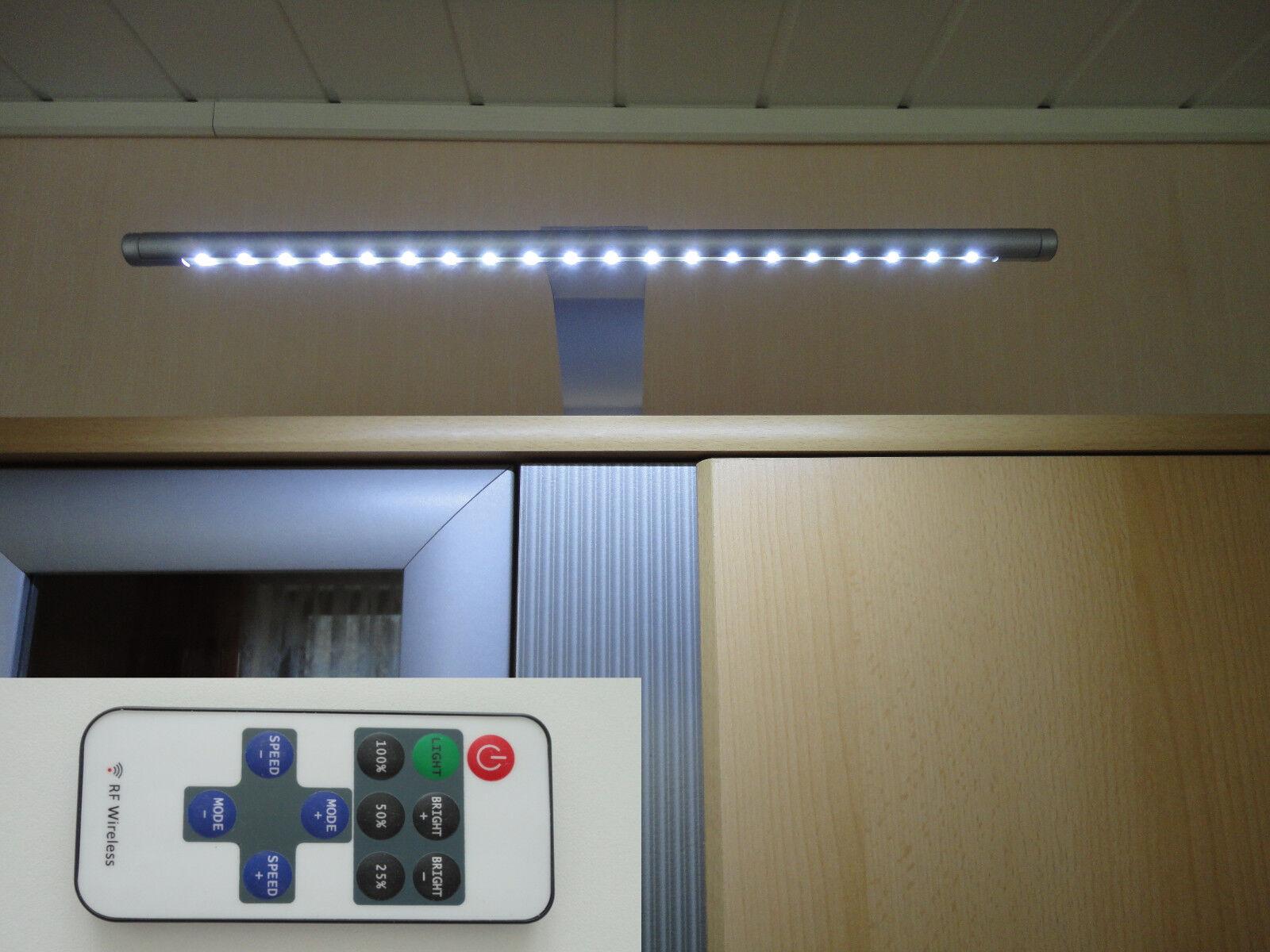 Led radio-fernbed. cocina armario iluminación construcción lámpara ida, compl. - set