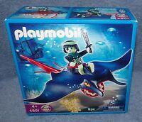 Playmobil 2008 Ghost Pirate Stingray With Rider Set 4801