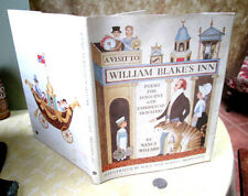 A VISIT To WILLIAM BLAKE'S INN,1981,Nancy Willard,1st Ed,Illust,DJ