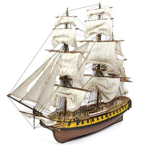 Occre Mercedes Spanish Frigate 1 85 Scale Model Ship Kit