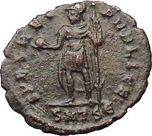 Julian-II-as-Caesar-w-globe-and-spear-355AD-Ancient-Roman-Coin-Rare-i30342