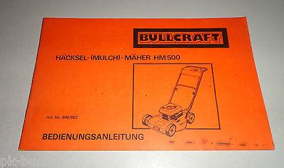 Holder HM3 Hacke Mäher Betriebsanleitung 1979