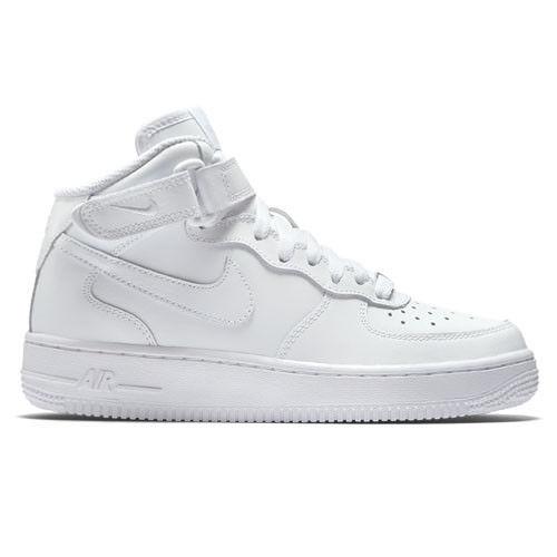 Nike Air Force 1 Mittel- GS Junge Mädchen Schuhe weiß chaussure Hoch Gymnastik